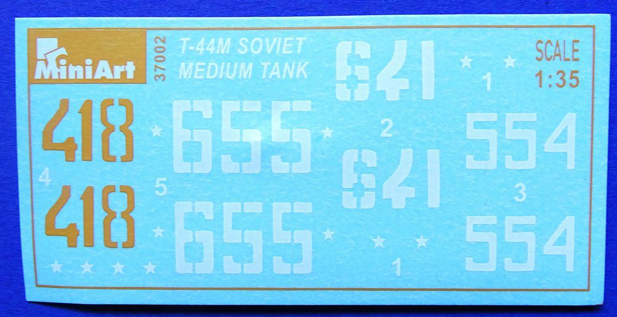 MiniArt-37002-T-44M-38 T-44M von Mini Art (1:35 # 37002)