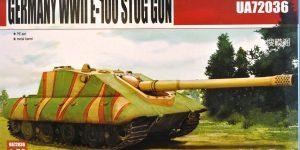 German E-100 StuG Gun ( Modelcollect UA 72036 )