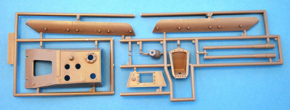 Modellcollect-UA72036-E-100-StuG-Gun-18 German E-100 StuG Gun ( Modelcollect UA 72036 )