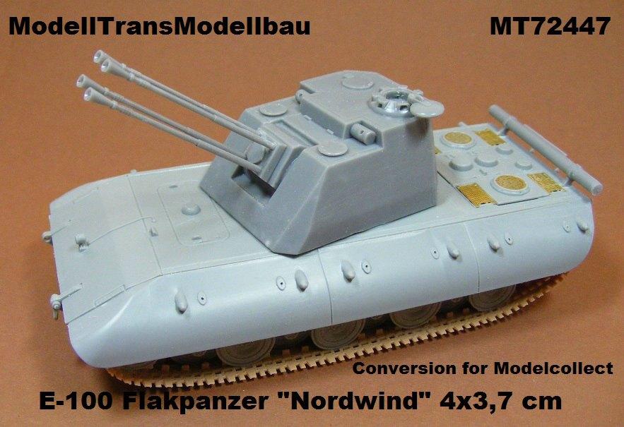 Modelltrans-MT-72447 ModellTrans Umbausets für ModelCollect E-100 Reihe