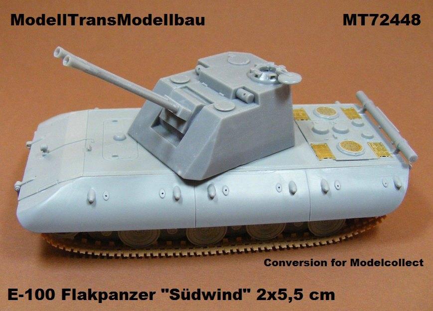 Modelltrans-MT-72448 ModellTrans Umbausets für ModelCollect E-100 Reihe