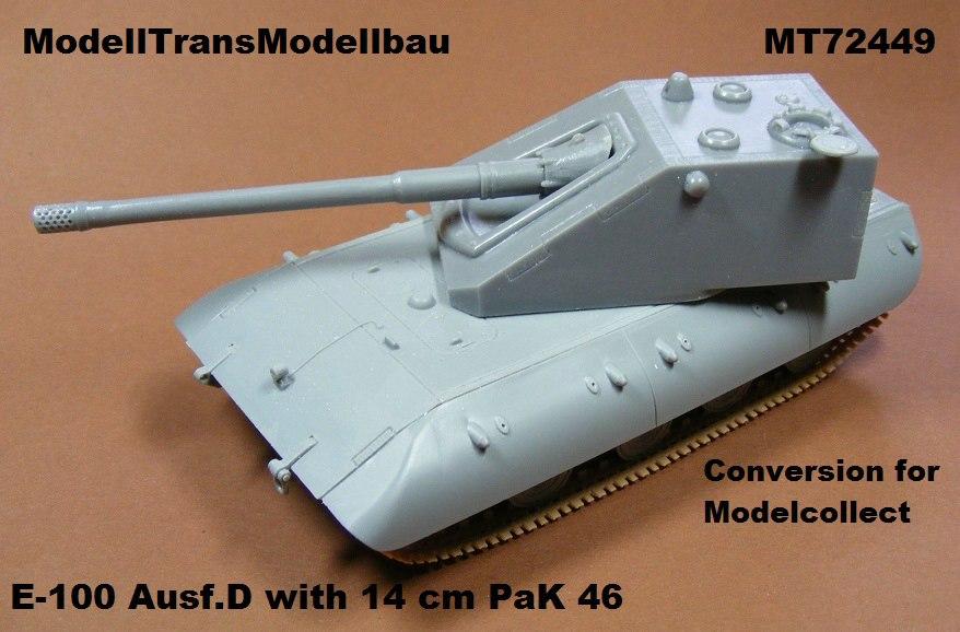 Modelltrans-MT72449 ModellTrans Umbausets für ModelCollect E-100 Reihe