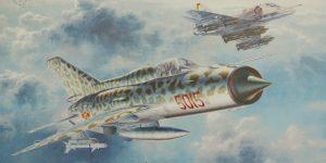 Sound of Silence ( MiG-21 und Skyhawk) 1:48 Eduard