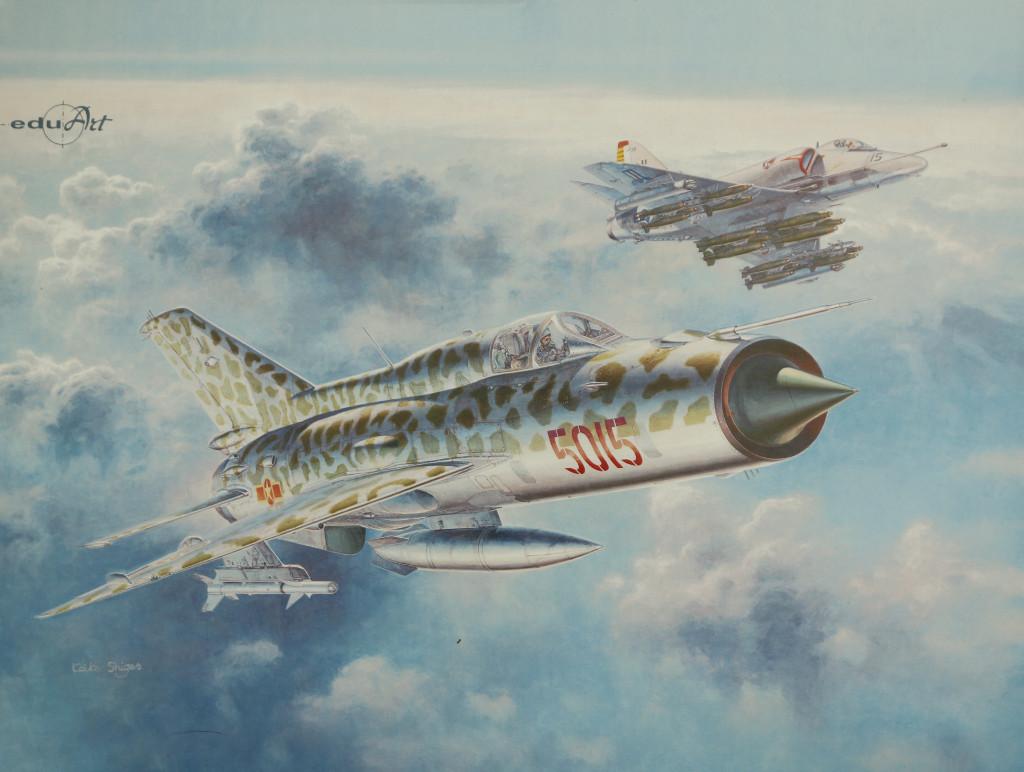 Sound-of-Silence Sound of Silence ( MiG-21 und Skyhawk) 1:48 Eduard