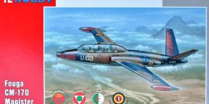 "Fouga Magister ""Exotic Air Forces"" in 1:72 von Special Hobby (SH 72284 )"