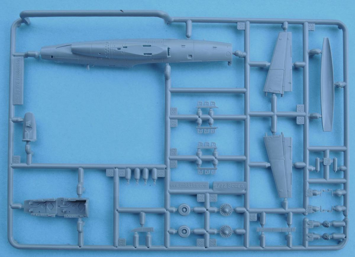Special-Hobby-SH-72284-Fouga-Magister-Exotic-Air-Forces-16 Fouga Magister in French, Belgian and Irish Service in 1:72 von Special Hobby # 72371