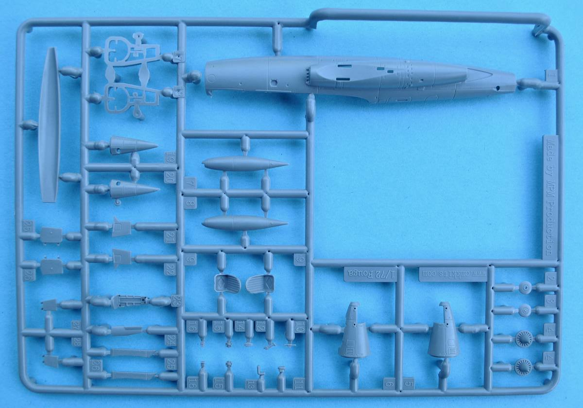 Special-Hobby-SH-72284-Fouga-Magister-Exotic-Air-Forces-25 Fouga Magister in French, Belgian and Irish Service in 1:72 von Special Hobby # 72371