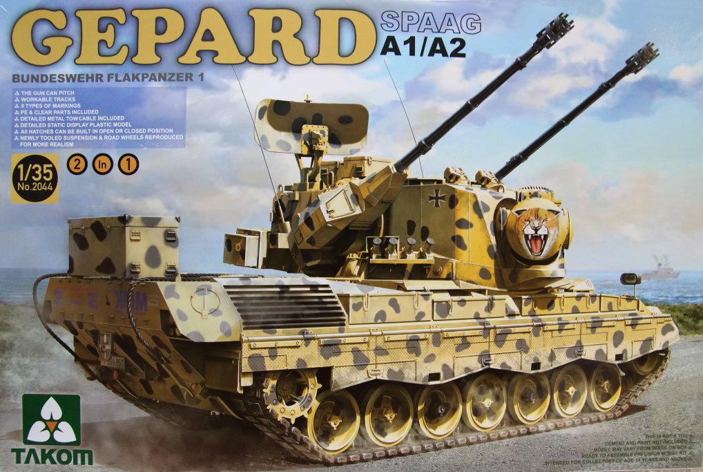 Takom_Gepard_02 Gepard A1/A2 - Takom 1/35 --- #2044