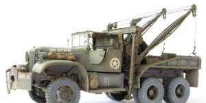 Build Review : Diamond T 969A Wrecker Mirror Models 1:35