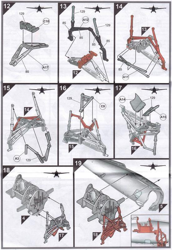 Airfix-A02070-F4F-4-Wildcat-Bauplan F4F-4 von Airfix in 1:72 - der Baubericht
