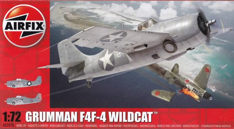 Airfix-A02070-F4F-4-Wildcat F4F-4 von Airfix in 1:72 - der Baubericht