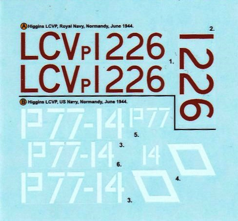 "Airfix-A02340-Higgins-LCVP-15 Das LCVP ""Higgins"" von Airfix im Maßstab 1:72 ( A02340 )"