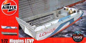 """Das LCVP """"Higgins"""" von Airfix im Maßstab 1:72 ( A02340 )"""