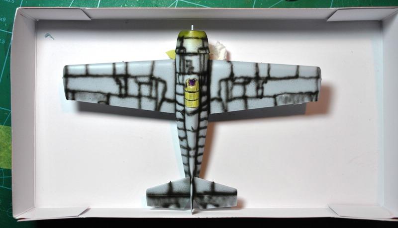 Airfix-Wildcat-Baubericht-Pre-Shading F4F-4 von Airfix in 1:72 - der Baubericht