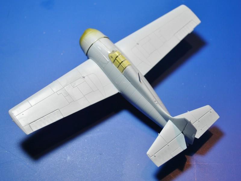 Airfix-Wildcat-Baubericht-Rohbau-fertig F4F-4 von Airfix in 1:72 - der Baubericht