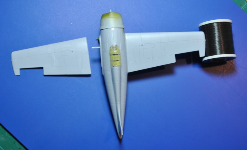 Airfix-Wildcat-Baubericht-Tragflächenmontag F4F-4 von Airfix in 1:72 - der Baubericht