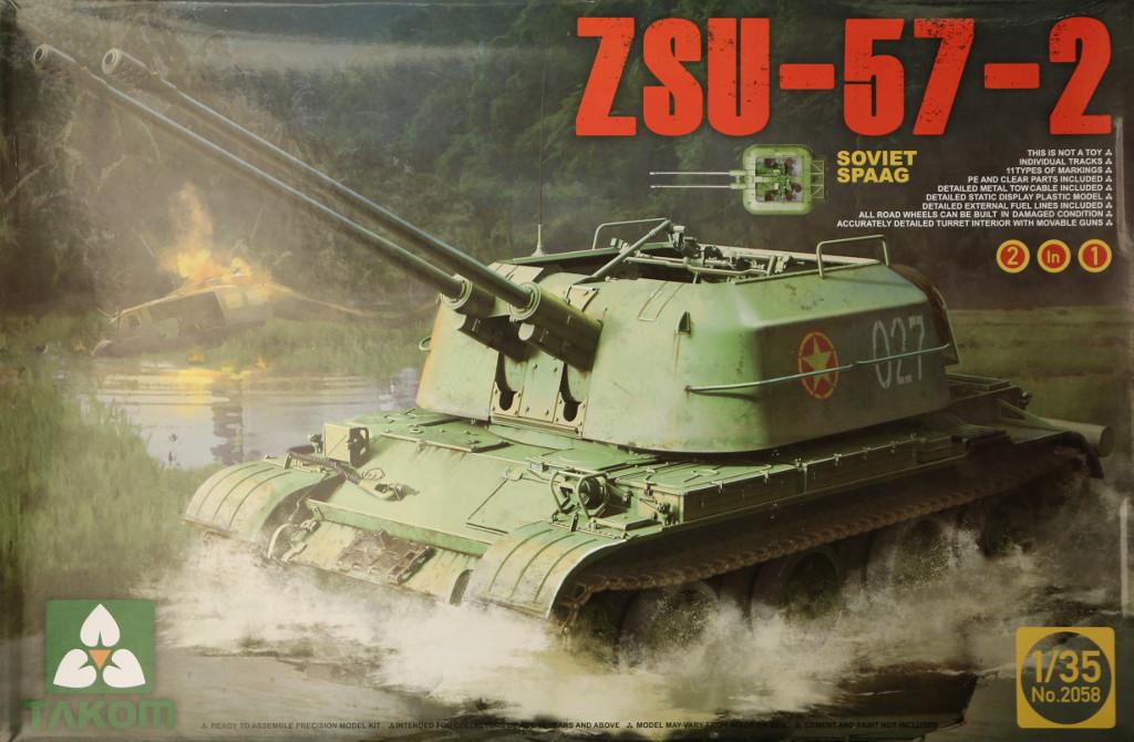 Boxart ZSU-57-2 Takom 1:35 (2058)