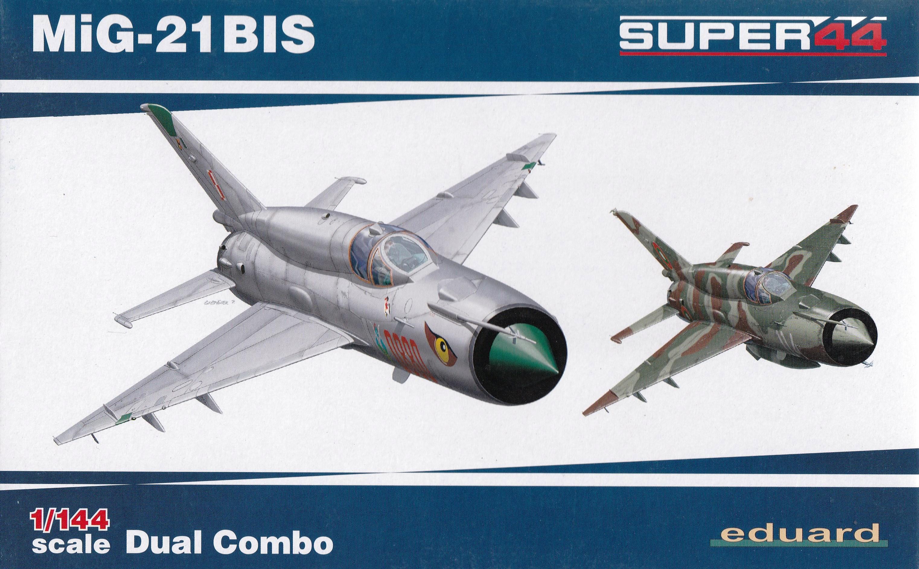 Eduard-4427-MiG-21bis-1zu144-24 Eine MiG-21bis im SmallScale 1:144 von Eduard