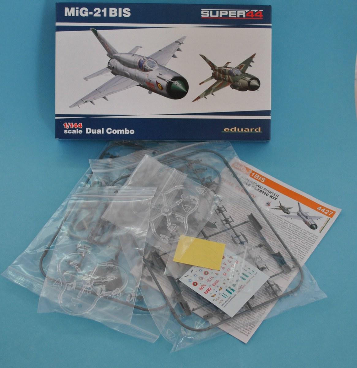 Eduard-4427-MiG-21bis-1zu144-4 Eine MiG-21bis im SmallScale 1:144 von Eduard
