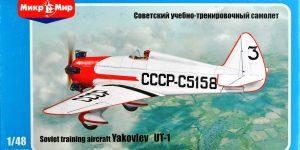 Jakowlew UT-1 von Mikro Mir 48-002