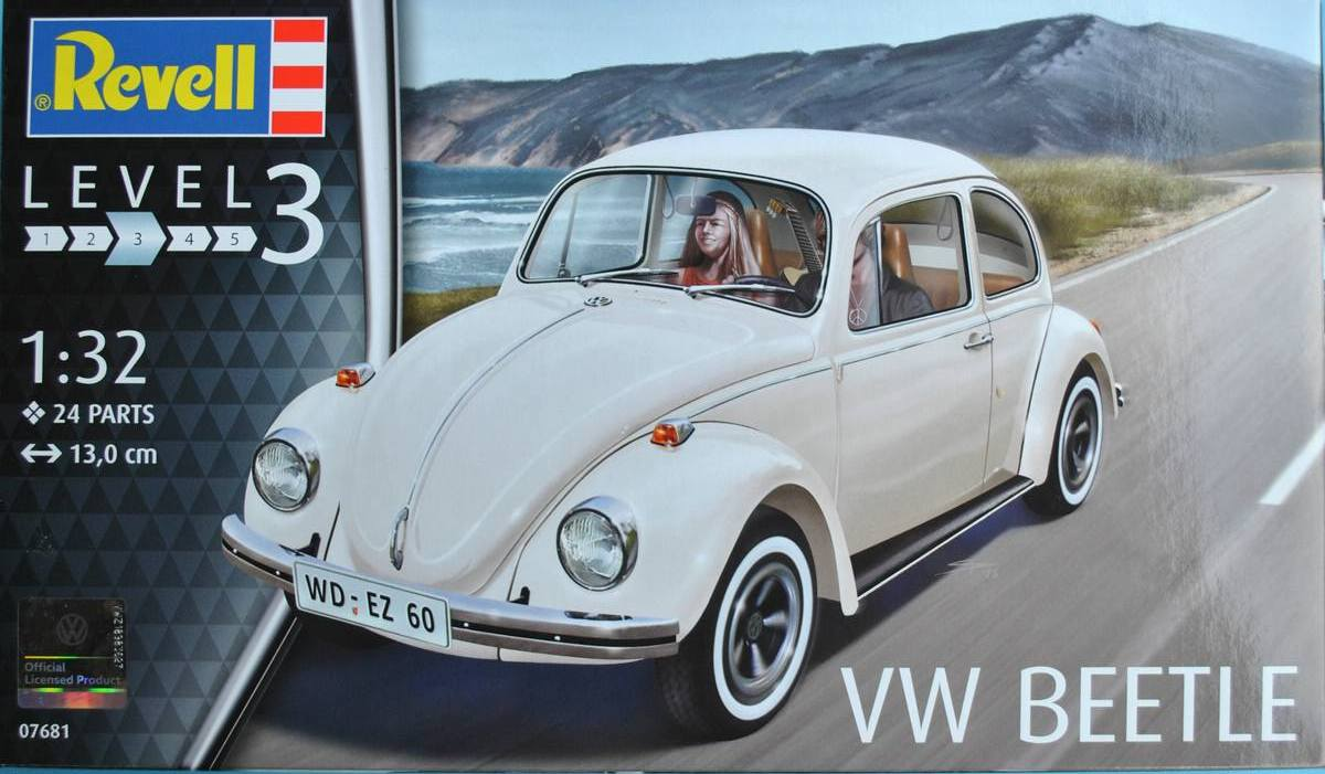 Revell-07681-VW-Beetle-7 VW Beetle von Revell in 1:32