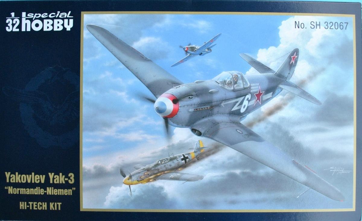 Special-Hobby-SH-32067-Yak-3-Normandie-Niemen-50 Yakovlev Yak-3 Normandie-Niemen von Special Hobby ( SH 32067 )