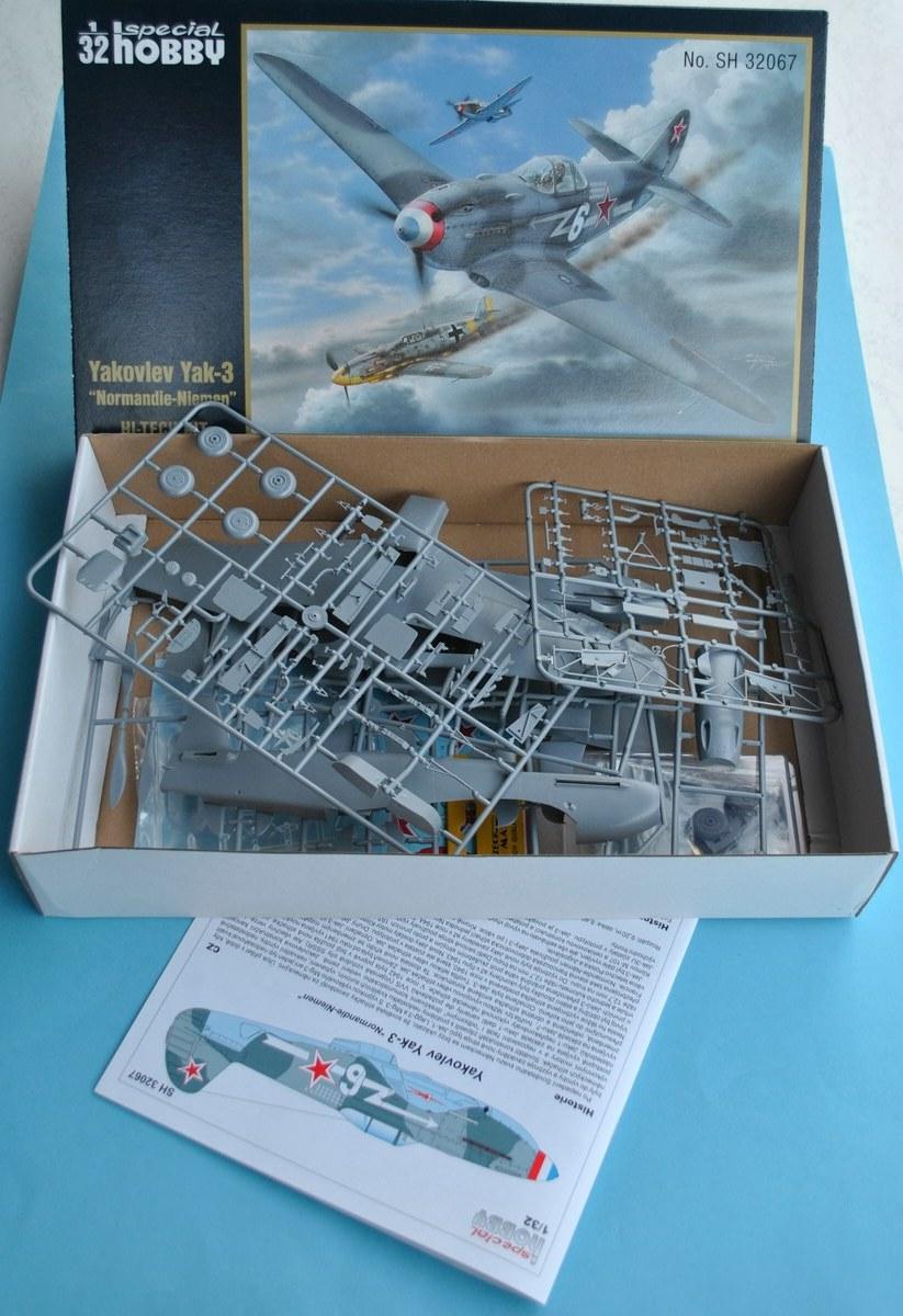 Special-Hobby-SH-32067-Yak-3-Normandie-Niemen-6 Yakovlev Yak-3 Normandie-Niemen von Special Hobby ( SH 32067 )