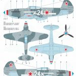 Special-Hobby-SH-32067-Yak-3-Normandie-Niemen-64-150x150 Yakovlev Yak-3 Normandie-Niemen von Special Hobby ( SH 32067 )
