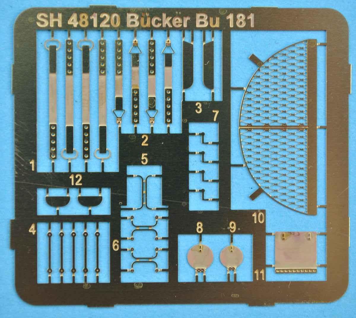 SpecialHobby-SH-48120-Bücker-Bü-181-Bestmann-25 Bücker Bü 181 Bestmann im Maßstab 1:48 Special Hobby SH 48120