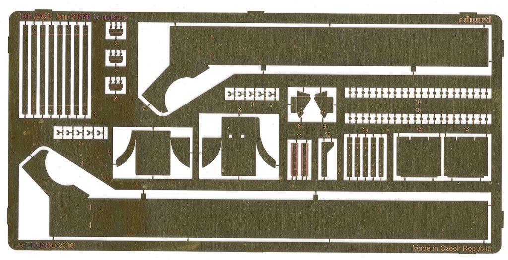36344-1024x525 Photoätzteile für Su-76M von Tamiya. Eduard 36343 und 36344.