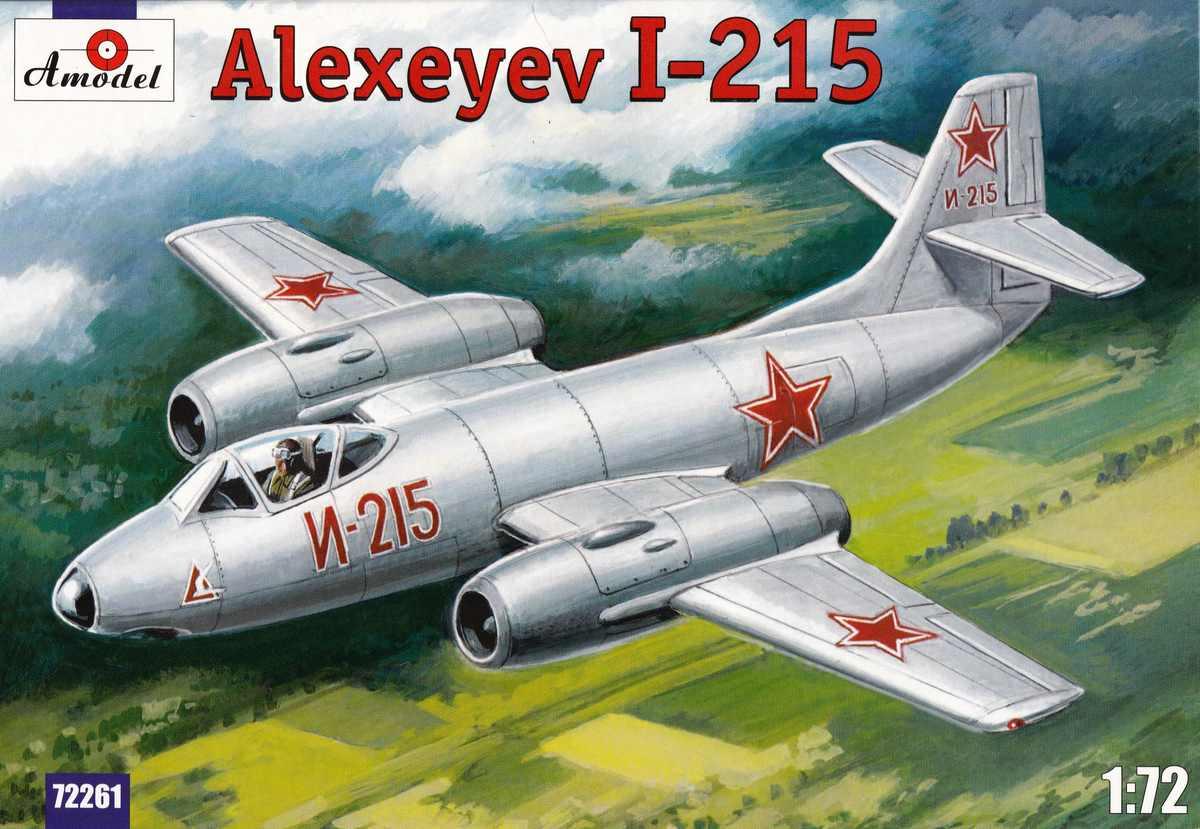AModel-72261-I-215-24 Alexeyev I-215 von A-Model # 72261