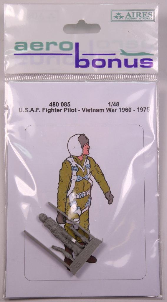 Aerobonus_USAF_Pilot_04 U.S.A.F. Fighter Pilot Vietnam War - aerobonus - 1/48 --- #480 085