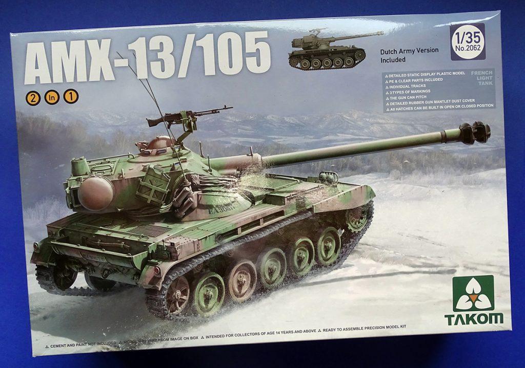 DSC04669-1024x719 French Light Tank AMX-13/105. Takom 2062.