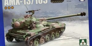French Light Tank AMX-13/105. Takom 2062.