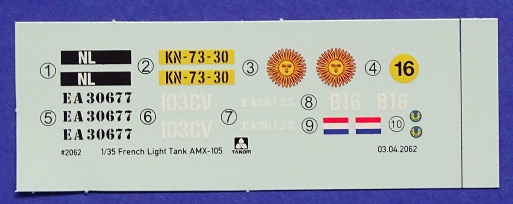 DSC04686-1024x408 French Light Tank AMX-13/105. Takom 2062.