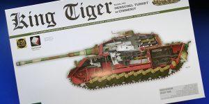 King Tiger Sd.Kfz.182 Henschel Turret with Zimmerit. Takom 2045.