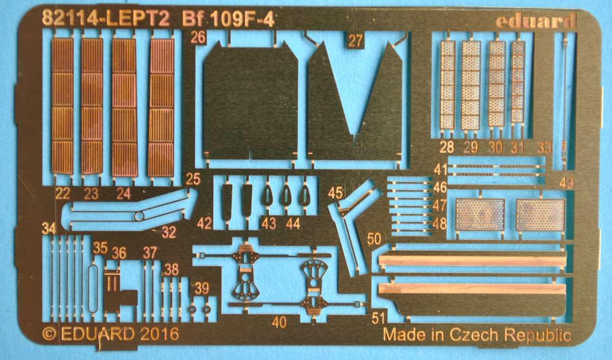 Eduard-82114-Bf-109-F-4-Profipack-48 Bf 109 F-4 ProfiPack von Eduard # 82114