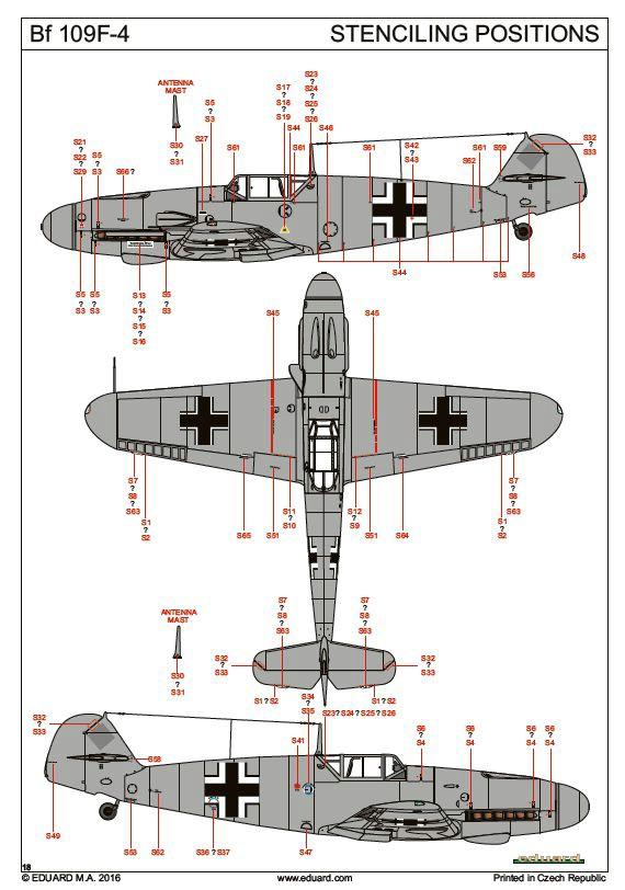 Eduard-82114-Bf-109-F-4-Profipack-68 Bf 109 F-4 ProfiPack von Eduard # 82114