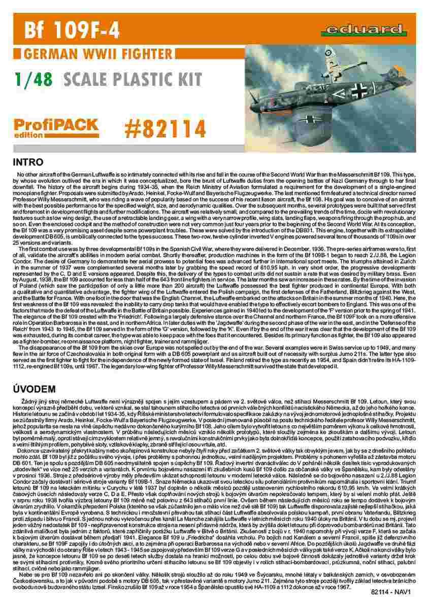 Eduard-82114-Bf-109-F-4-Profipack-69 Bf 109 F-4 ProfiPack von Eduard # 82114
