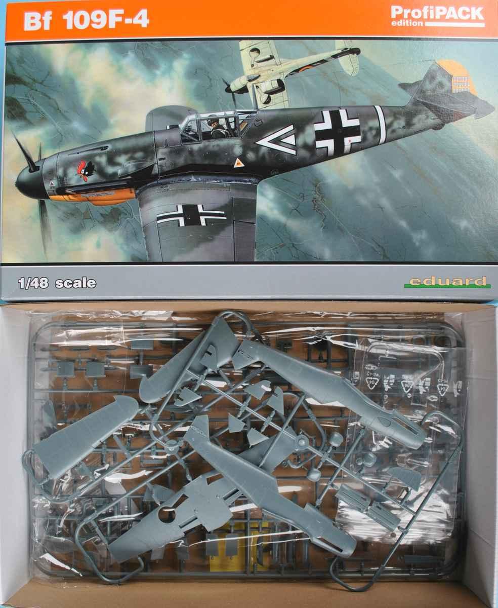 Eduard-82114-Bf-109-F-4-Profipack-70 Bf 109 F-4 ProfiPack von Eduard # 82114