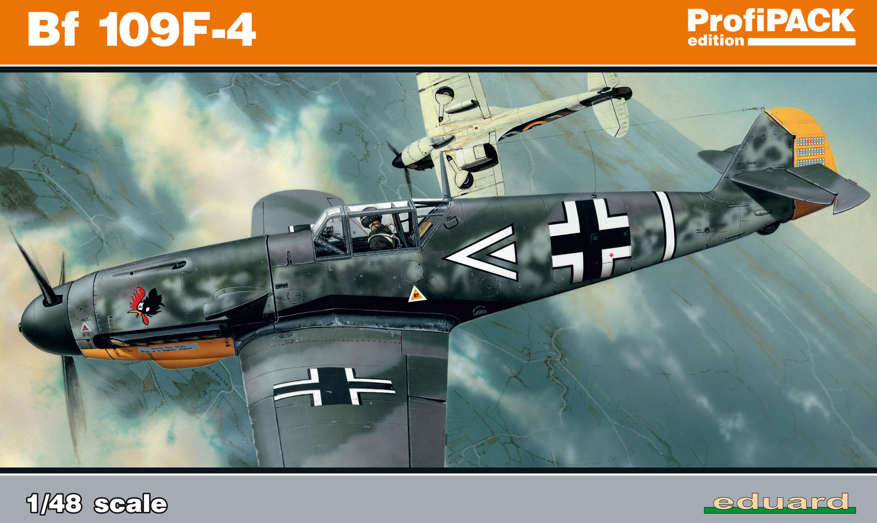 Eduard-82114-Bf-109-F-4-Profipack-Deckelbild Bf 109 F-4 ProfiPack von Eduard # 82114