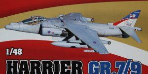 Harrier GR.7/9 – Eduard 1/48 — #1166