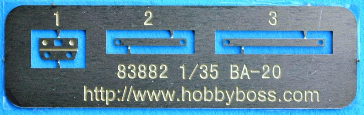 HobbyBoss-BA-20-30 BA-20 von HobbyBoss 1:35