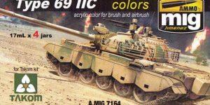 Type 69 II C Colours von Ammo by MIG