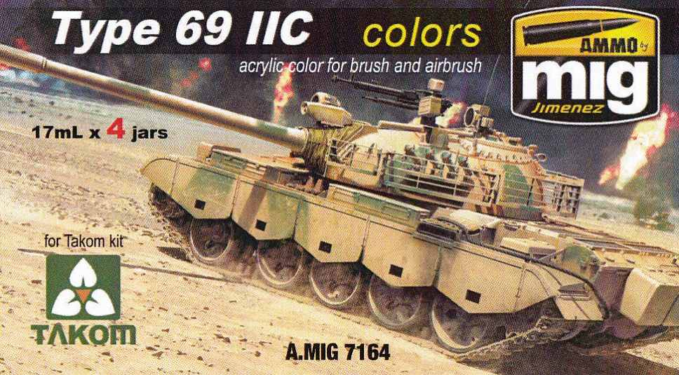 MIG-Type-69-Colours-1 Type 69 II C Colours von Ammo by MIG