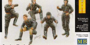 Soviet Tank Crew 1943 – 1945 MasterBox # 3568