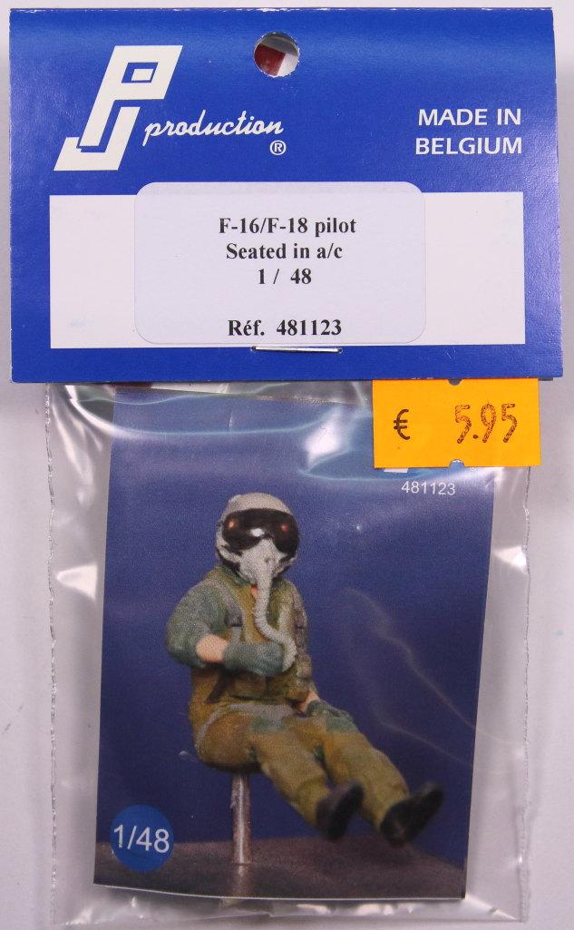 PJ_NAVY_Pilot_01 F-16/F-18 Pilot - PJ Production - 1/48 --- #481123
