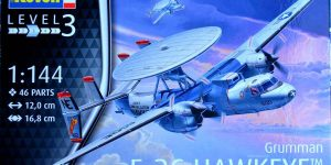 Grumman E-2C Hawkeye von Revell im Maßstab 1:144 ( 3945 )