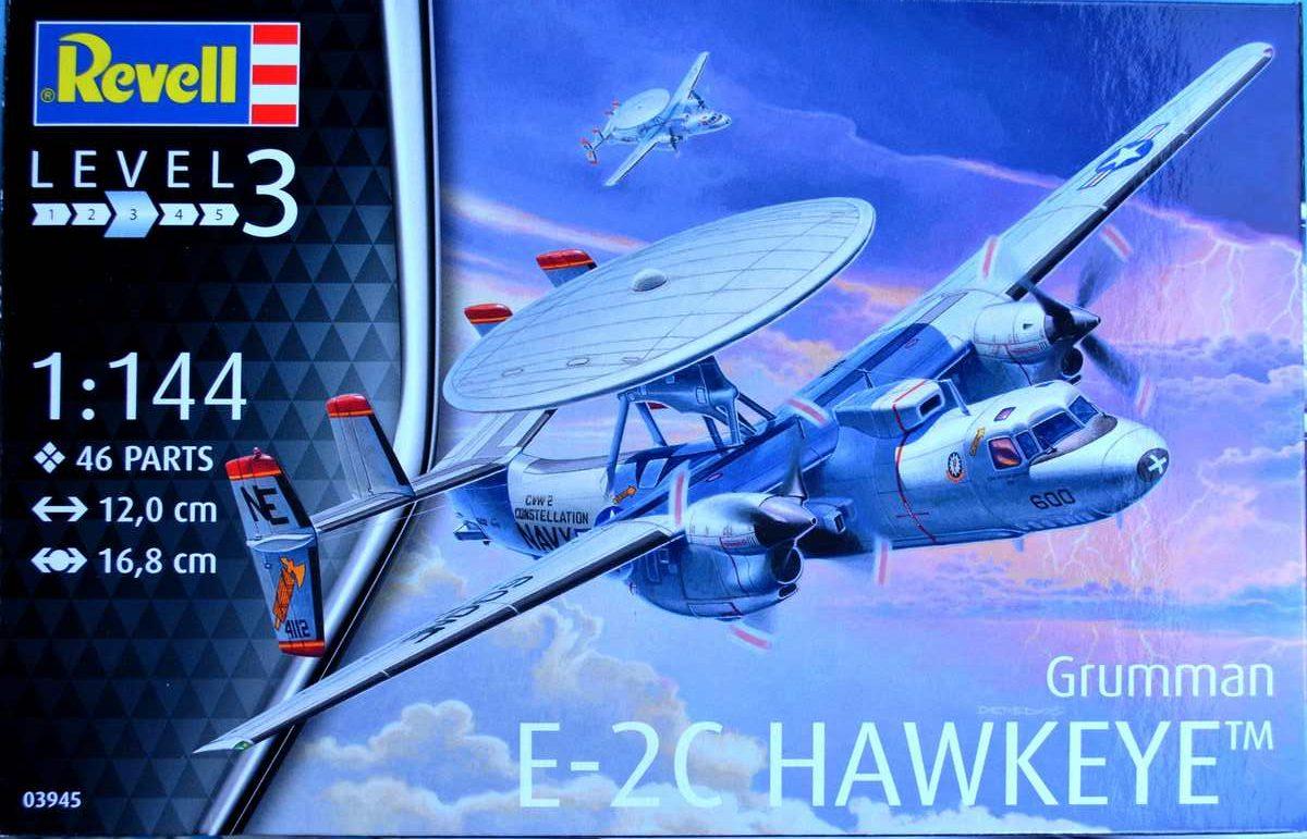 Revell-03945-Grumman-E-2C-Hawkeye-12-e1475684556264 Grumman E-2C Hawkeye von Revell im Maßstab 1:144 ( 3945 )