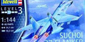 Suchoi Su-27 Flanker in 1:144 von Revell # 03948